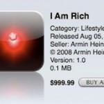 I am rich: la aplicación para fardar que costaba 1.000 dólares y no hacía nada