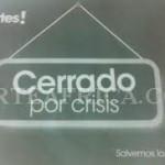 La crisis arrasa con un 20% de las empresas españolas
