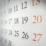 Así es el calendario laboral de 2017