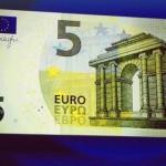 Los bancos de la Eurozona ya emitan los nuevos billetes de 5€