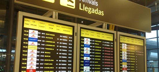 aeropuerto llegadas
