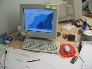 ordenador vacio