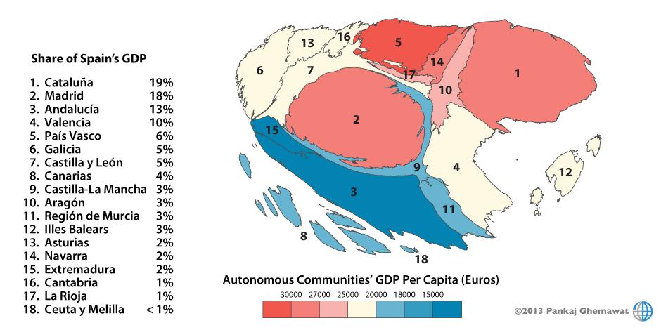 PerCapita_GDP_ESP_2011_list
