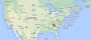 Localización Atlanta