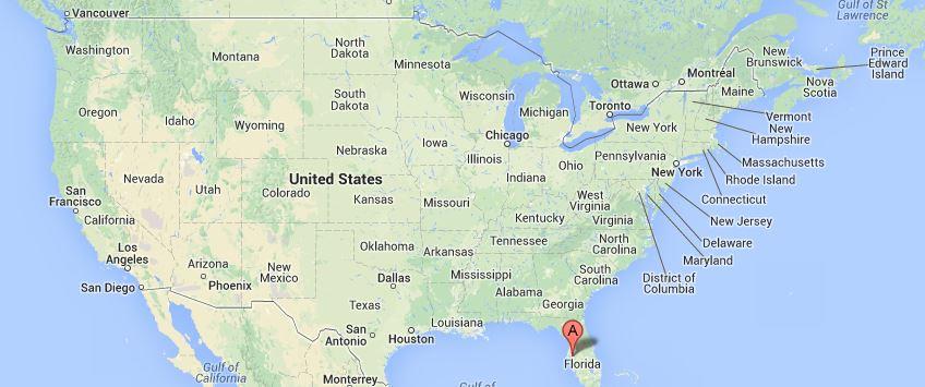 Localización Tampa