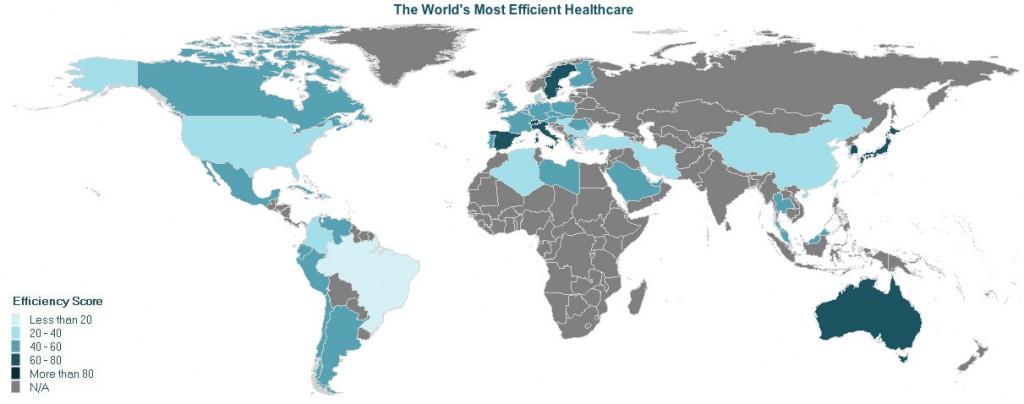 Los sistemas sanitarios más eficientes del mundo
