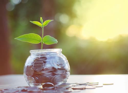 los intereses reales de los depositos y de las inversiones