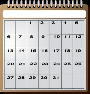 El calendario escolar 2018-2019